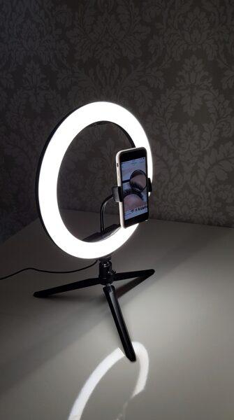 LED riņķa lampa 30cm (12inch)